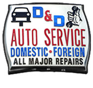 D & D Auto Service Domestic + Foreign, All Major repairs